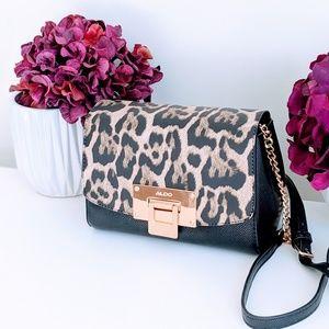 Aldo Leopard Crossbody Bag